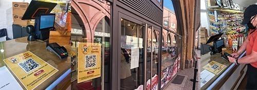 DoubleJack.Online offline marketing in shops